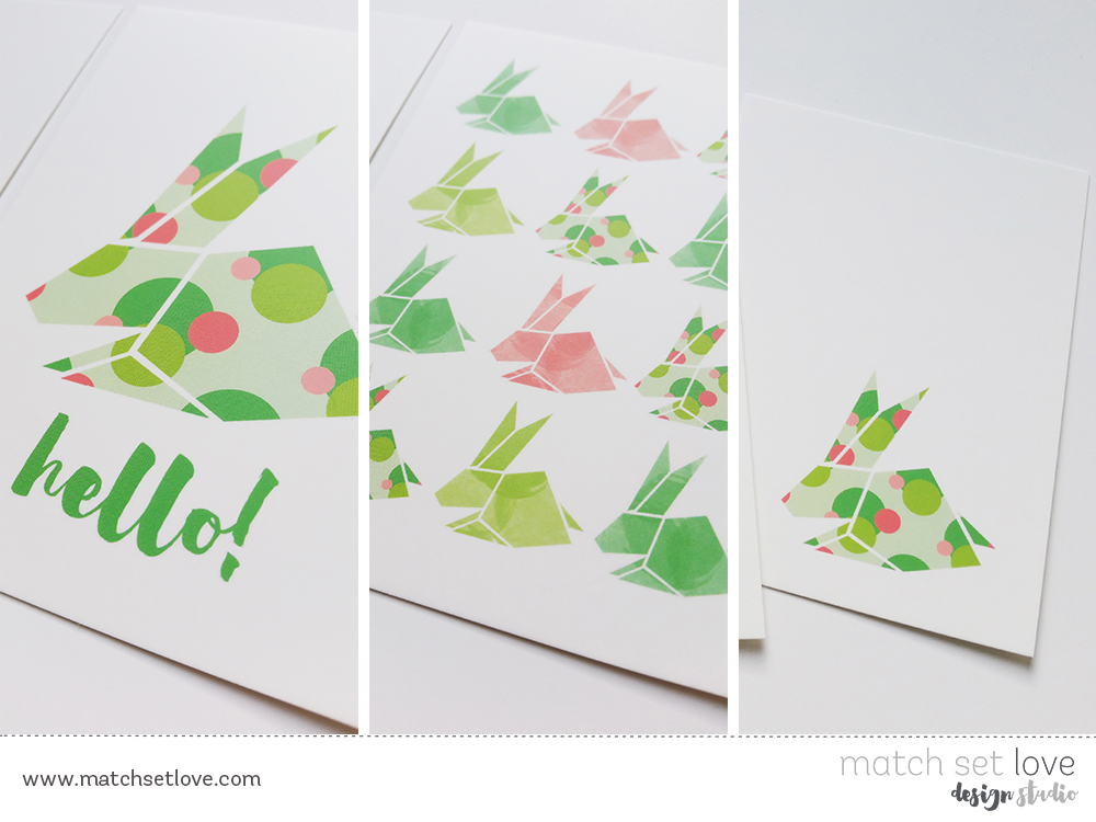 Postcards Rabbits 2