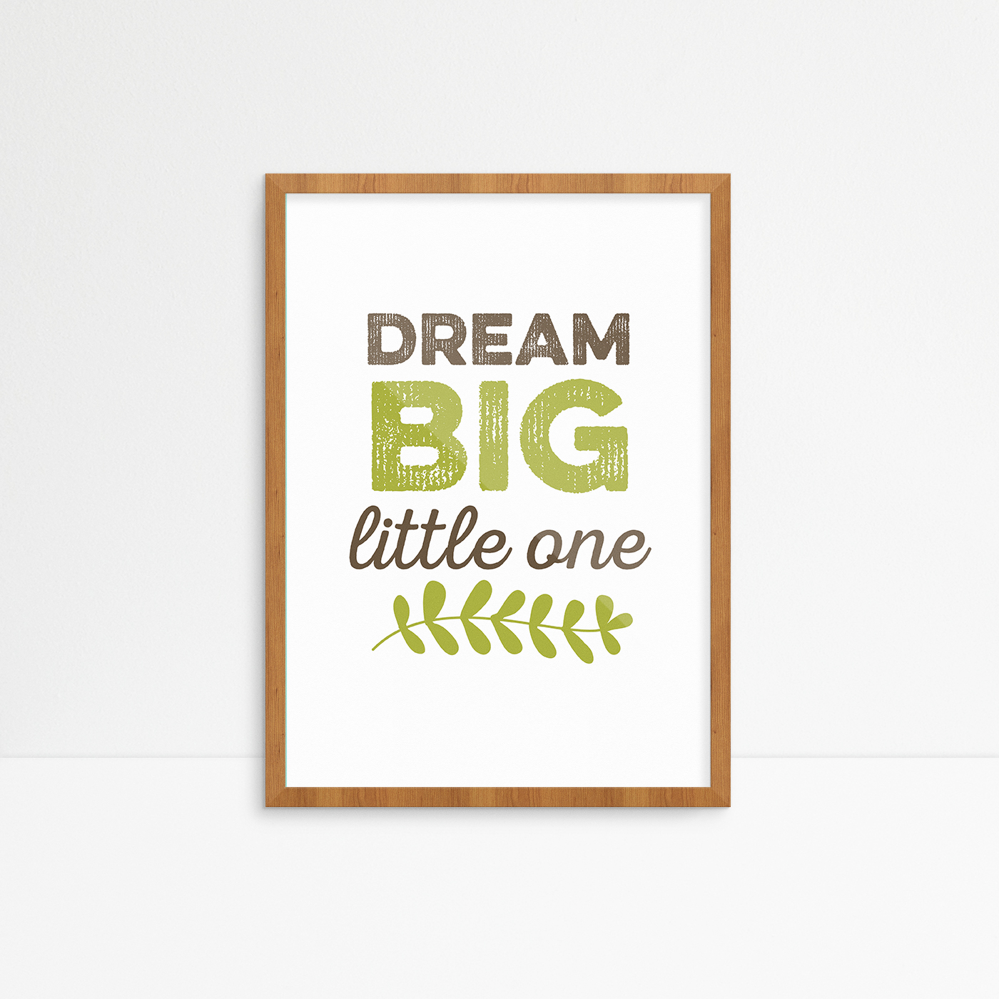 dream-big-little-one-brown-frame