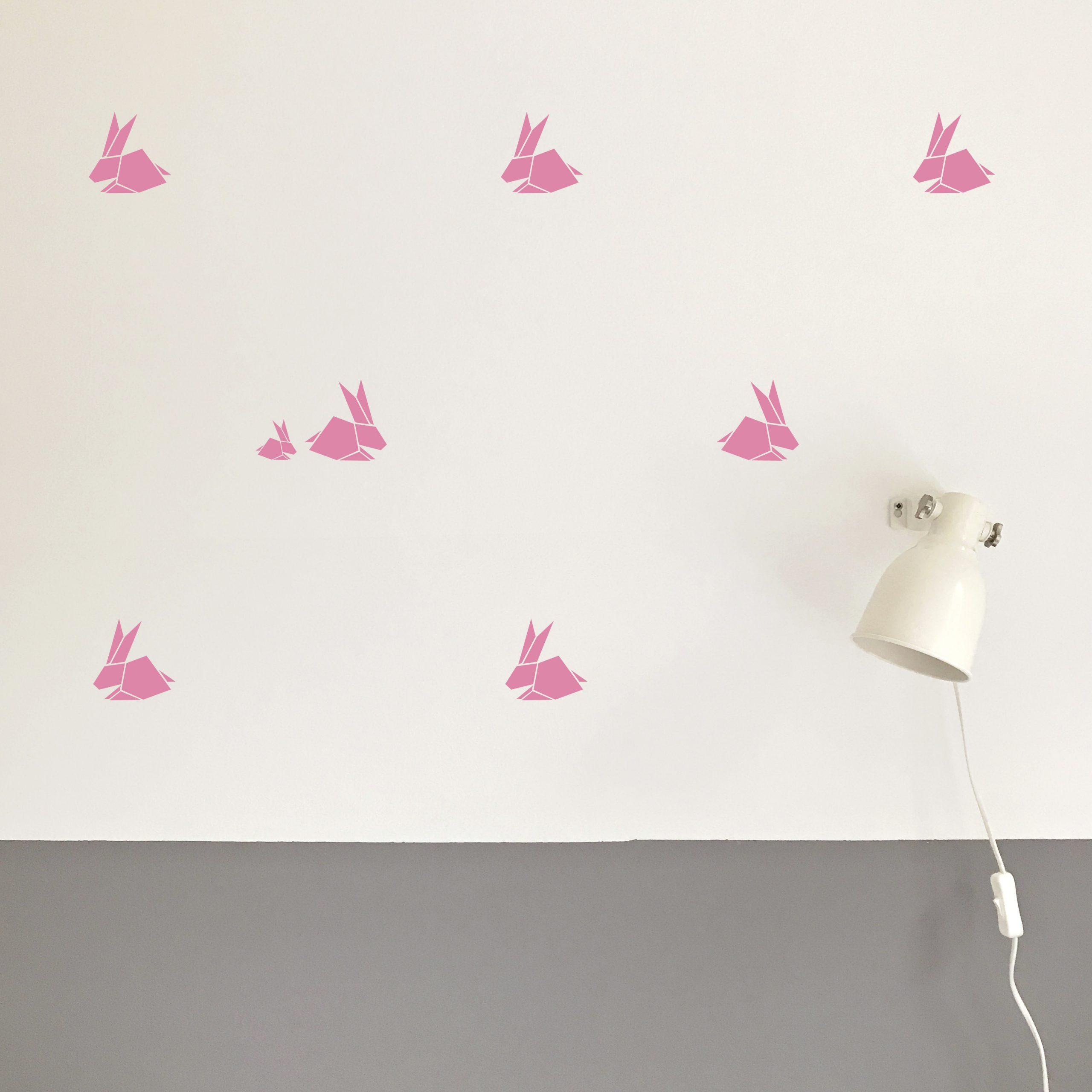 Origami Rabbits Pink