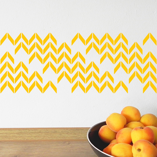 Chevron yellow 2