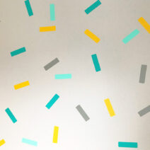 confetti wall decals