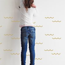 wave wall decal