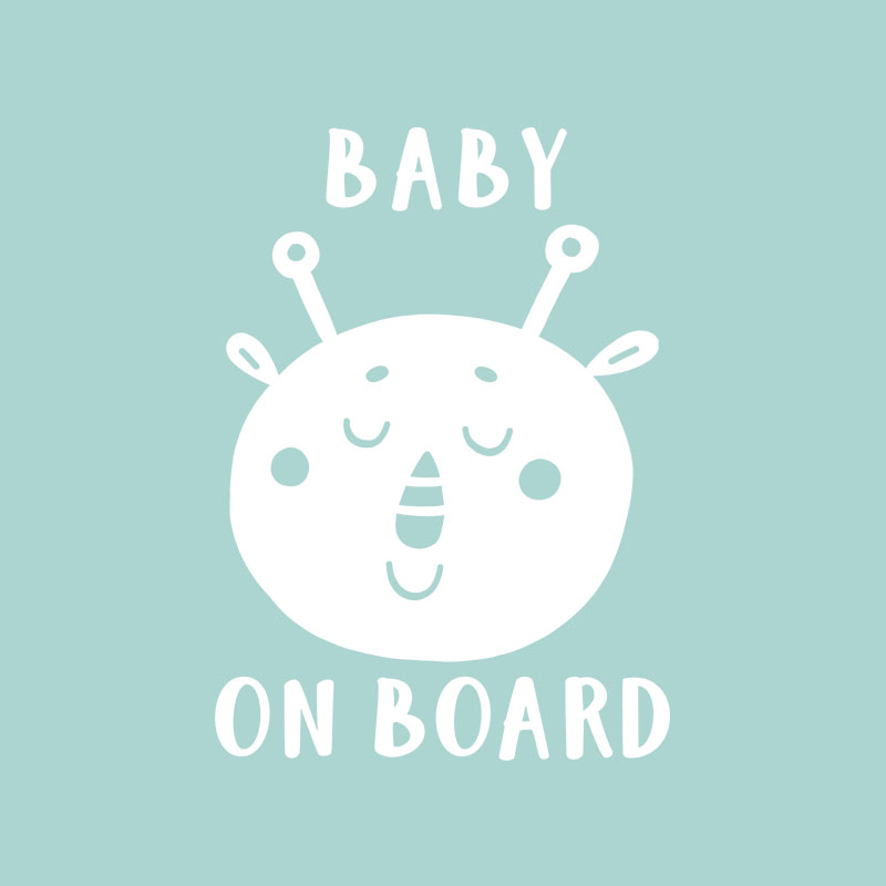 Baby on Board ALIEN 6