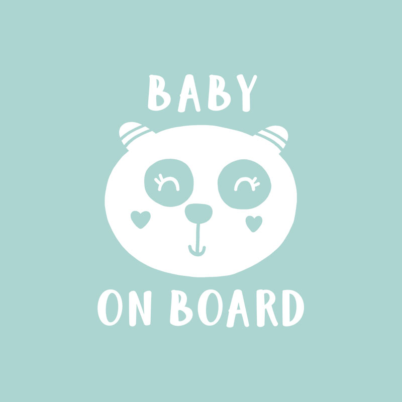 Baby on Board Bear 6