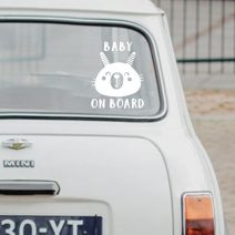 Baby on Board Sign | Car Window Vinyl Decals