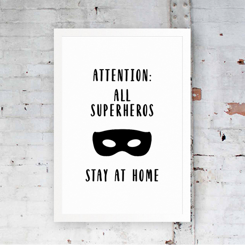 Attention All SuperHeroes
